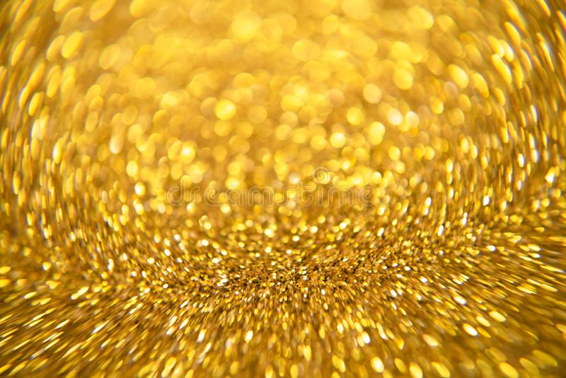Gold glitter and abstract Christmas bokhe background - Image. Gold glitter and abstract Christmas bokhe background royalty free stock photos