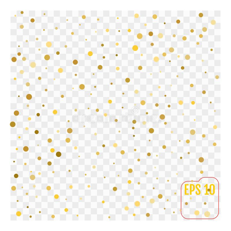Gold glitter corners for frame or border, background vector vector illustration