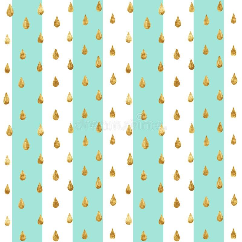 Free Gold Glitter Seamless Pattern, Striped Background Stock Image - 82180701