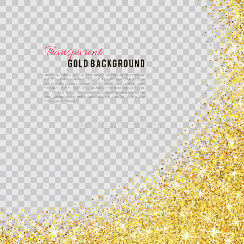 Free Gold Glitter Texture With Sparkles Stock Image - 67980721