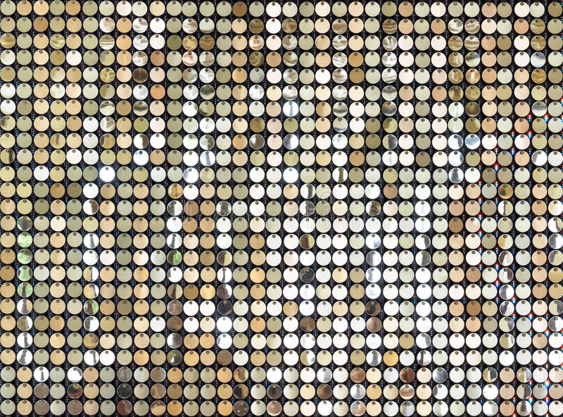 Gold glittering sparkle Abstract background stock photography