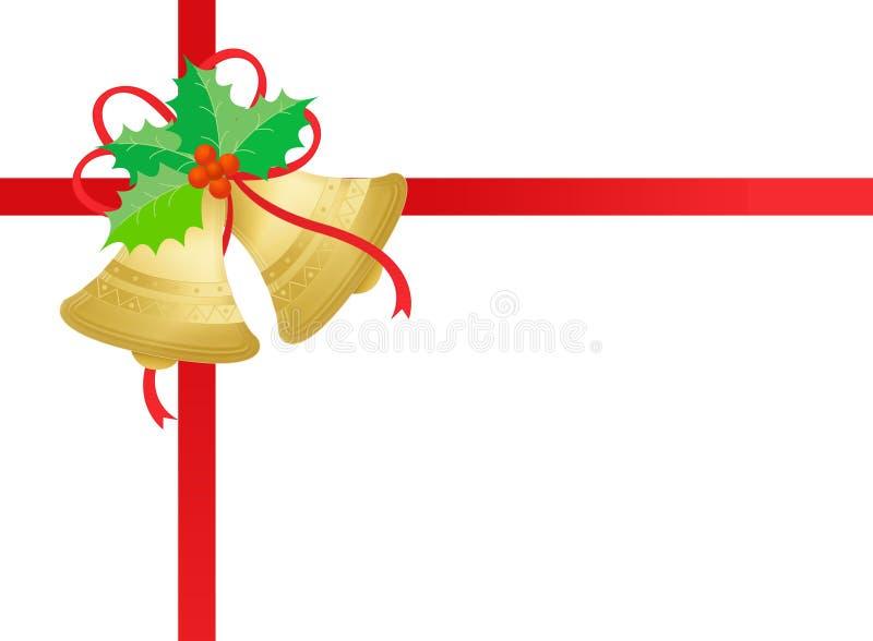 Download Gold / Golden Christmas Bells Stock Illustration - Image: 6360210