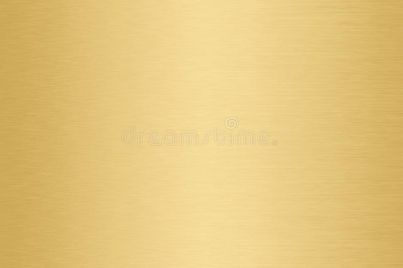 Gold, Golden metal gradient background. Metallic yellow frosted royalty free stock photography