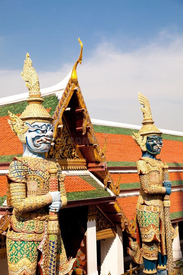 Free Gold Guards In Grand Palace, Bangkok, Thailand Royalty Free Stock Photography - 19577407