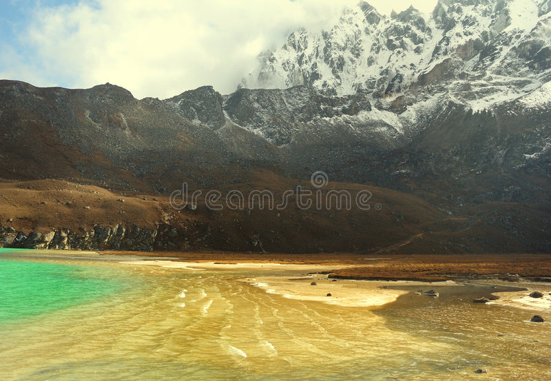 Download Gold of the Himalaya stock photo. Image of spirit, landscape - 7362988