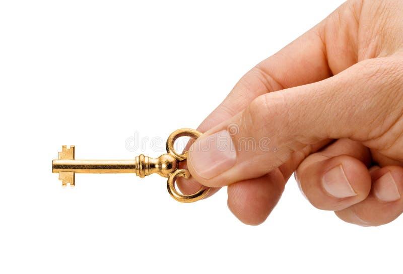Gold House Key