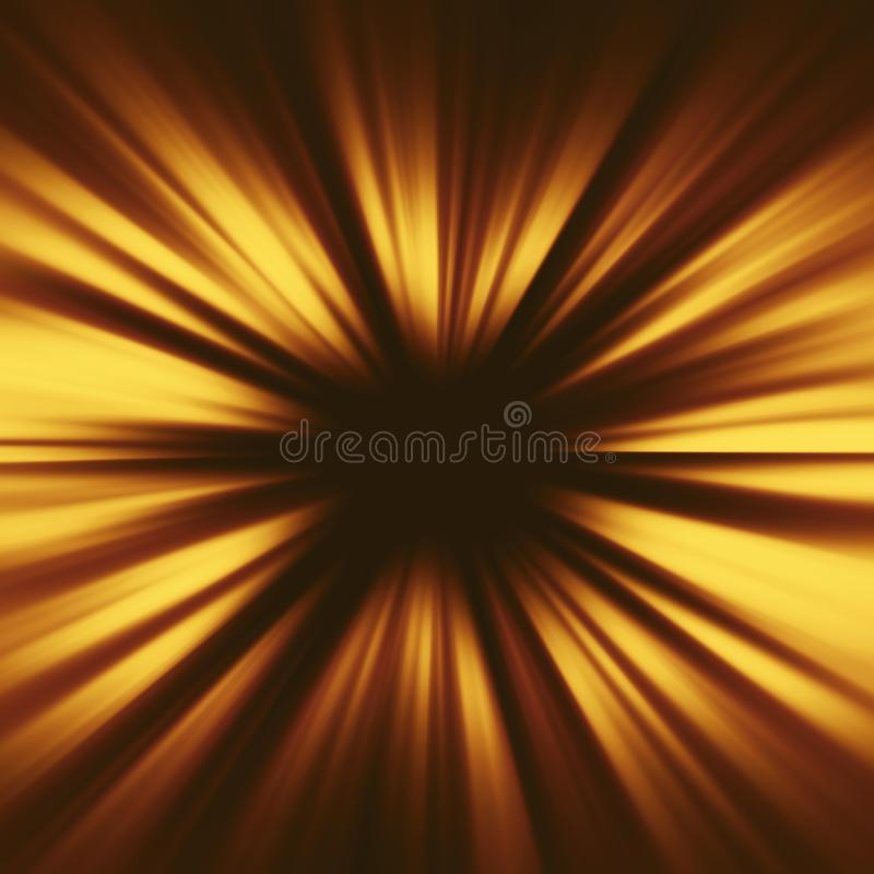 Gold illustration. Perfect light striped golden abstract background royalty free illustration