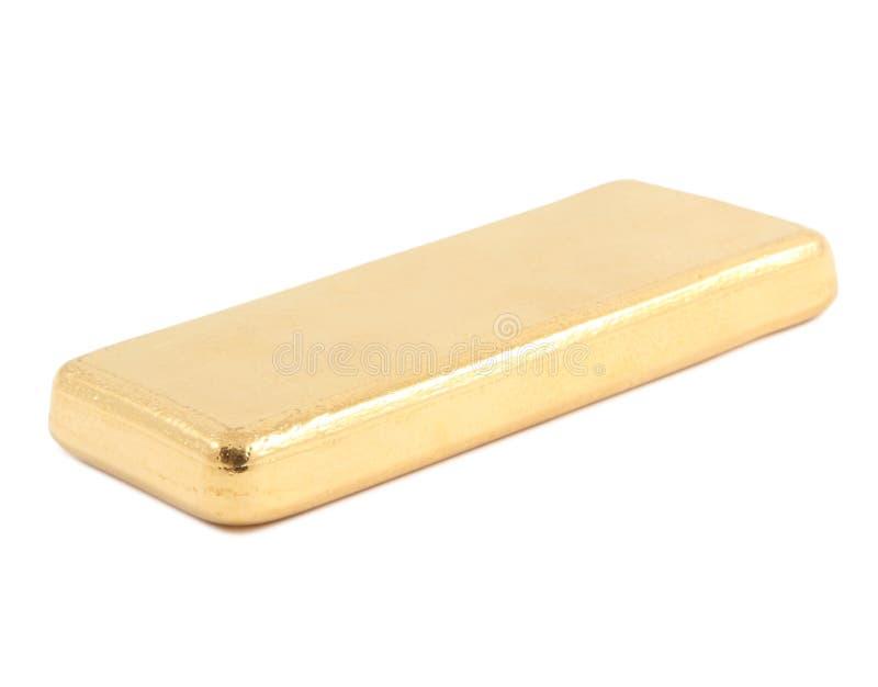 Gold ingot. Real photo stock photo