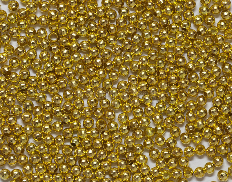 Download Gold Jewelry Beads From Spilling Stock Image - Image: 22154047