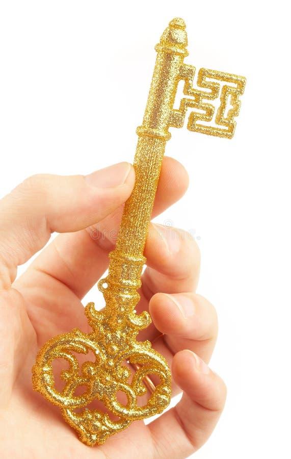 Gold Key Stock Photography