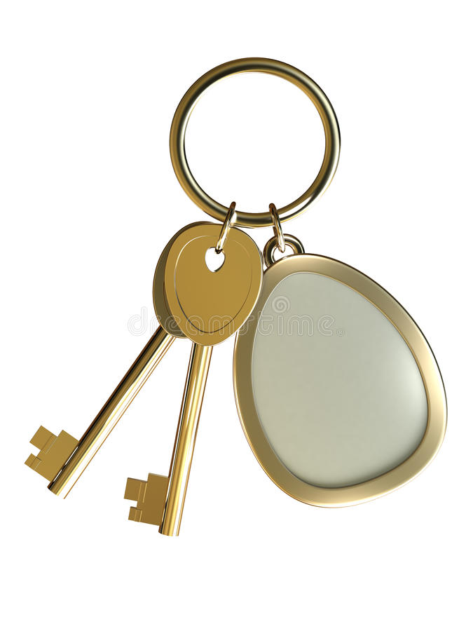 Download Gold Keys Stock Photography - Image: 12575382