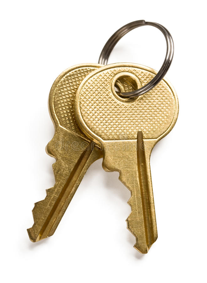Download Gold keys stock photo. Image of house, secure, door, closeup - 15317846