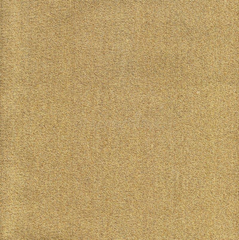 Gold Knit Fabric stock photo