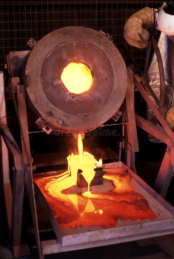 Gold laufen aus lizenzfreie stockfotos