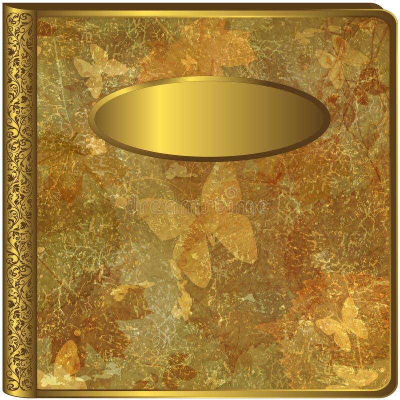 Gold leaf album cover