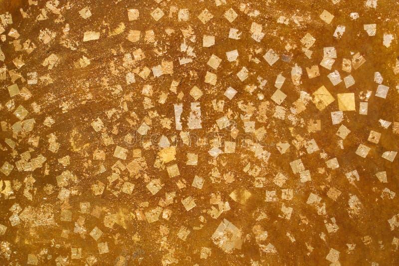 Gold leaf background royalty free stock image