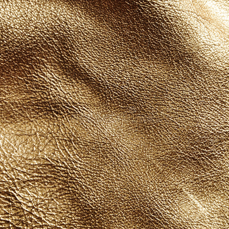Gold leather texture royalty free stock photo