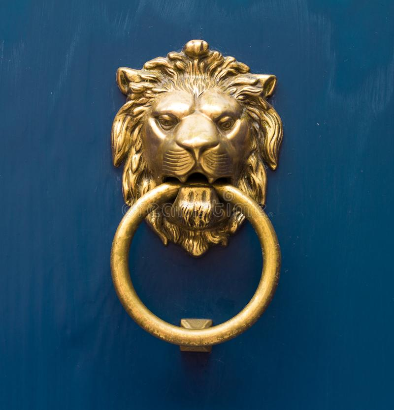 Download Gold Lion Antique Door Knob Stock Image   Image Of Closeup,  Sculpture: 113587203