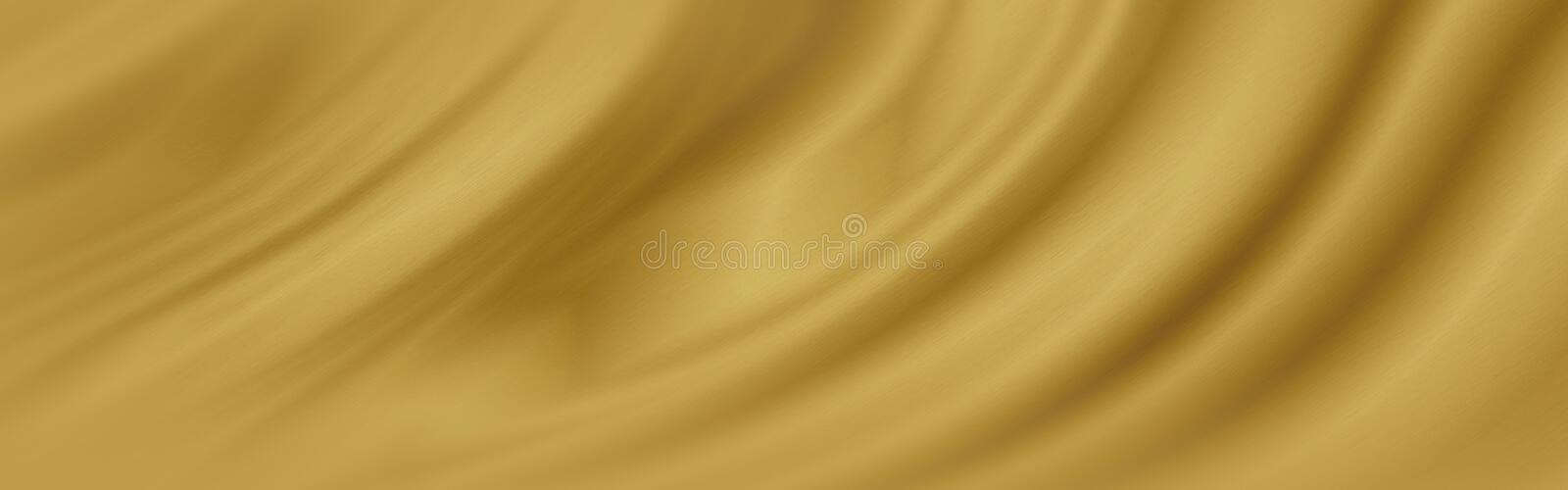 Gold luxury fabric background with copy space royalty free stock photos