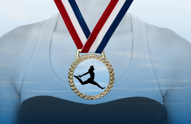 Download Gold Medal stock photo. Image of award, good, fortune, arrival - 137620