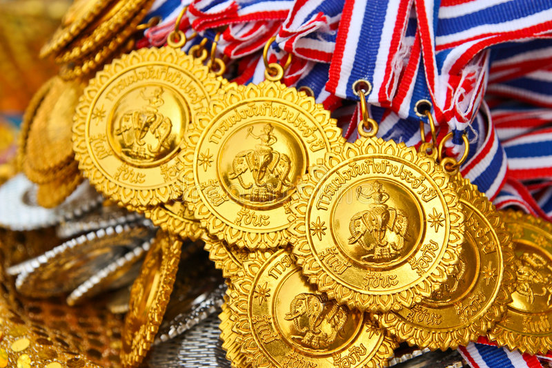 Download Gold medal stock photo. Image of winner, medal, golden - 7967810