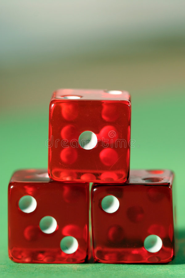 Gold medal in gambling stock photography