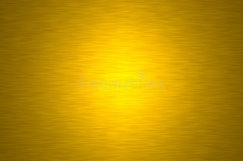 Gold metal plate stock photography