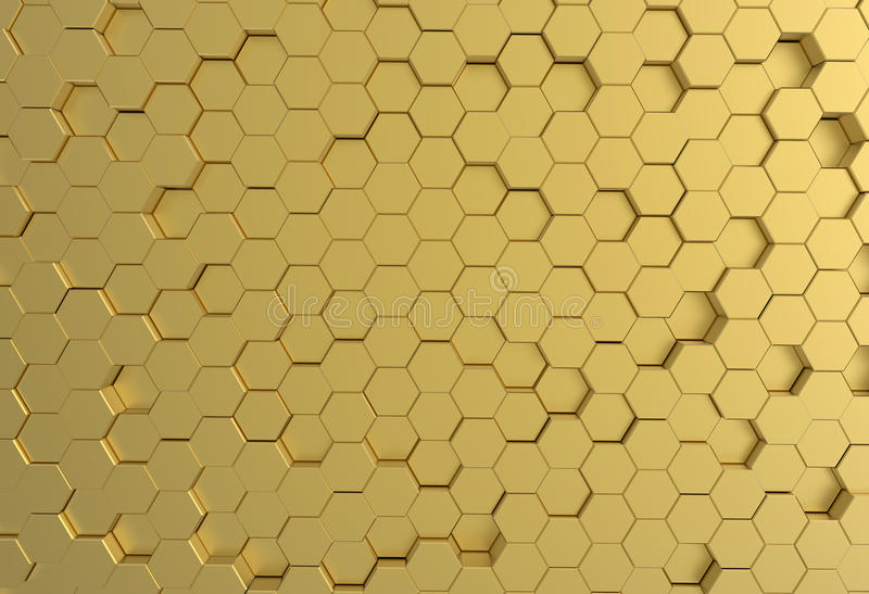Gold metal plate background or texture stock photo