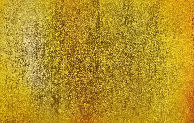 Gold metal with rough scratch texture background surface for background design stock images