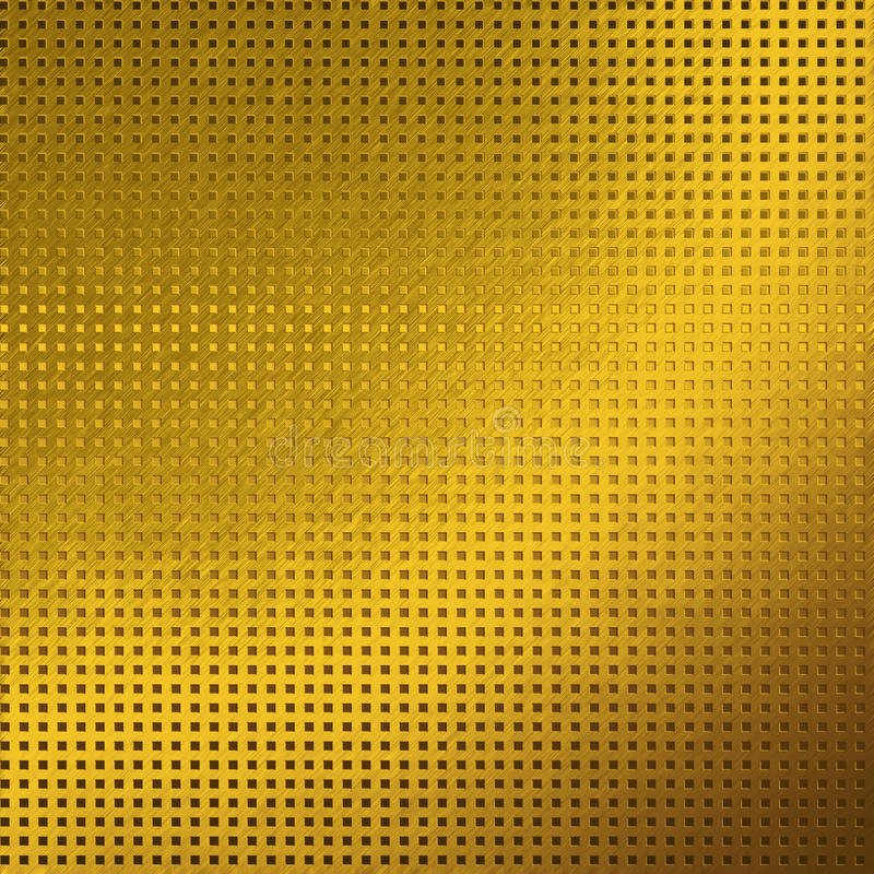Gold metal texture background grid pattern. Gold metal background texture grid pattern royalty free stock images