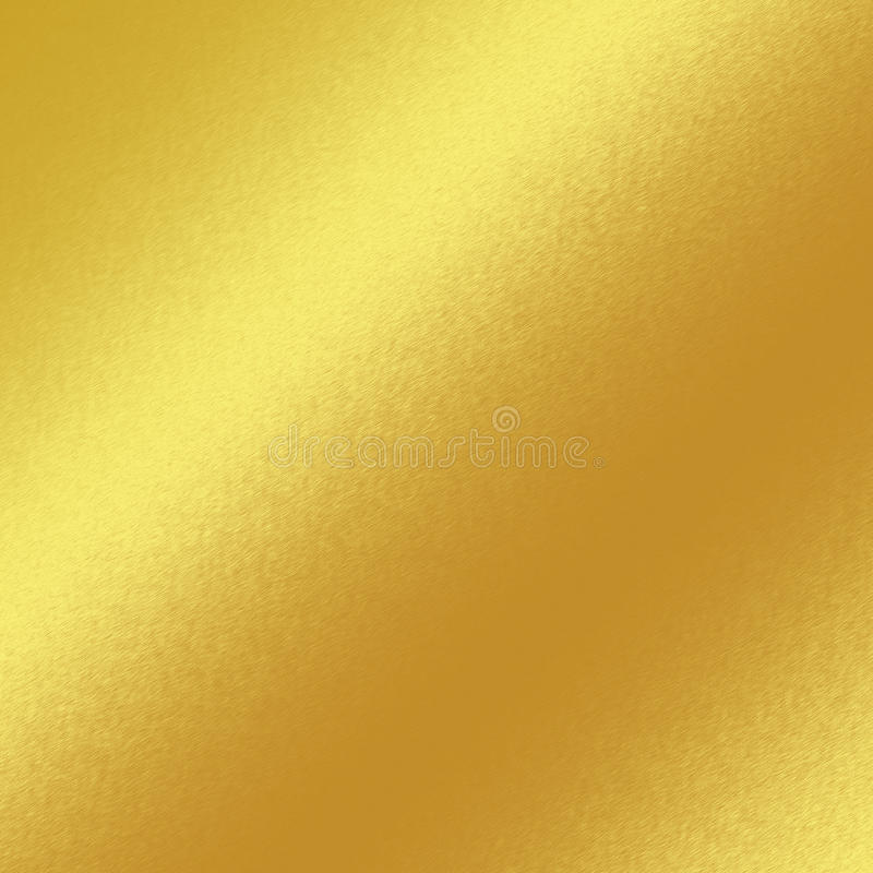 Gold metal texture background with oblique line of light vector illustration