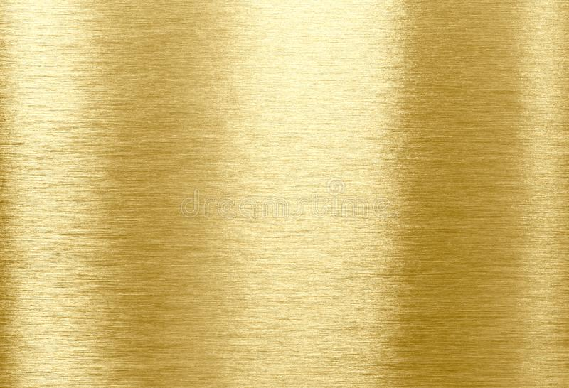 Gold metal texture. Gold shining metal texture background