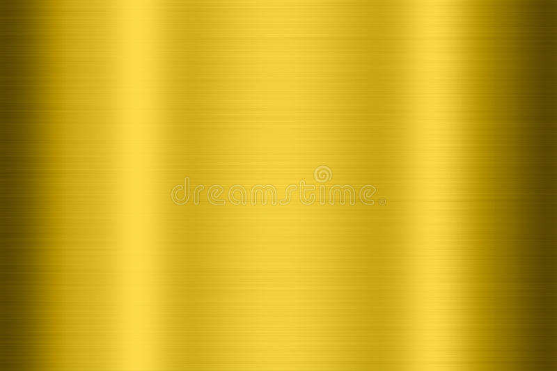 Gold metal texture. Use as background for text input vector illustration
