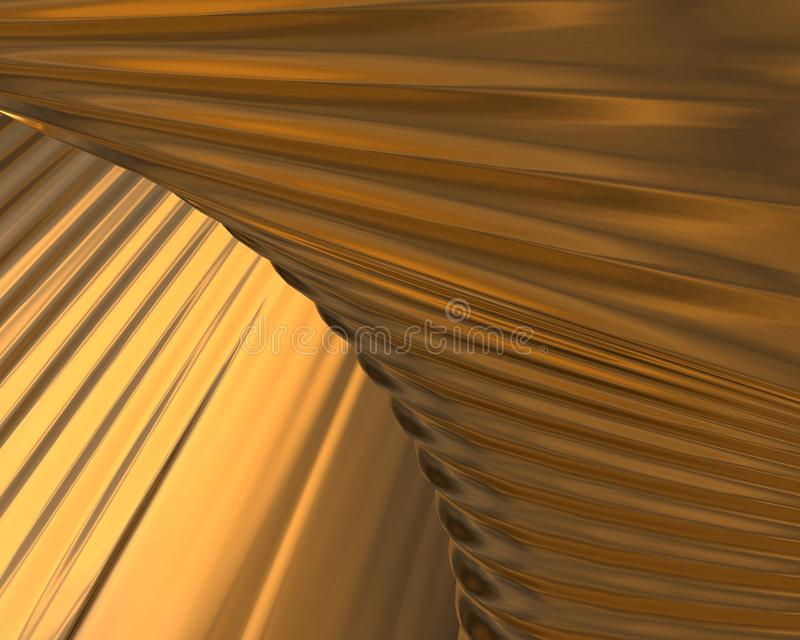 Gold texture / background royalty free illustration