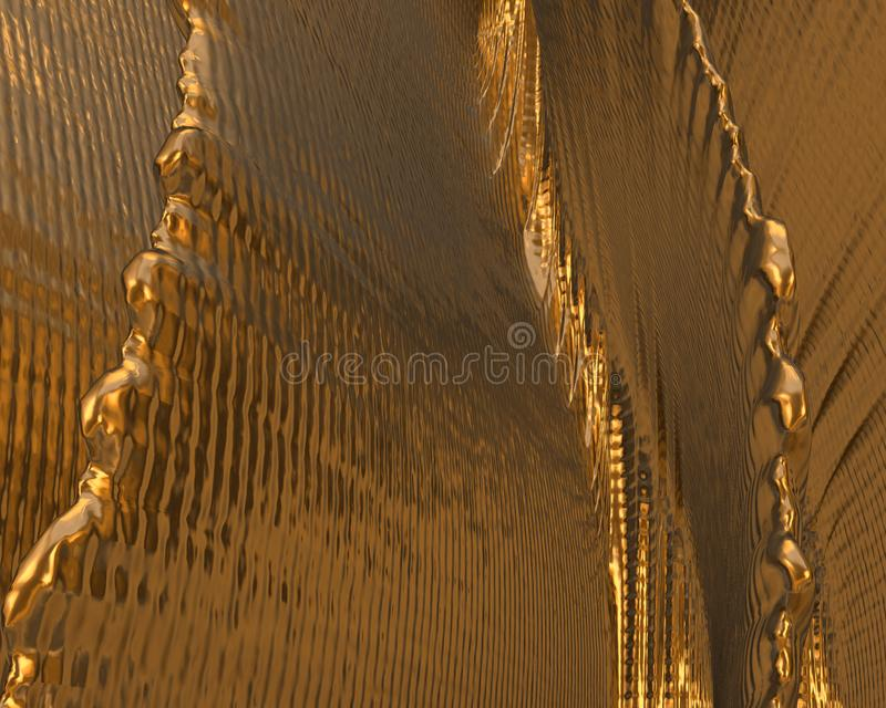 Gold texture / background vector illustration