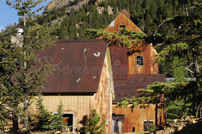 Gold Mine Camp royalty free stock photo