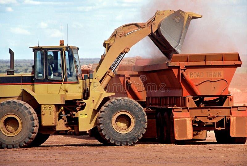 Gold Mining royalty free stock image