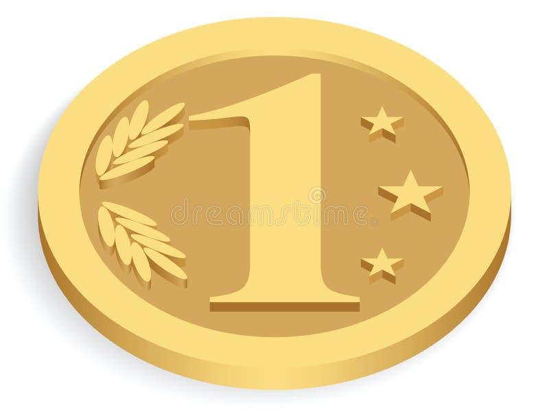 Gold Monetary Unit Stock Photography