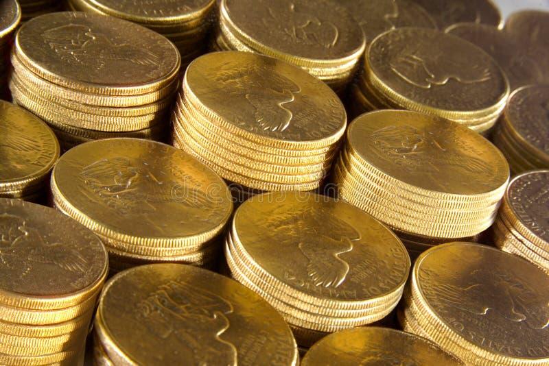 GOLD MONEY FINANCIAL PLANNING WEALTH MANAGEMENT RETIREMENT FUND stock image