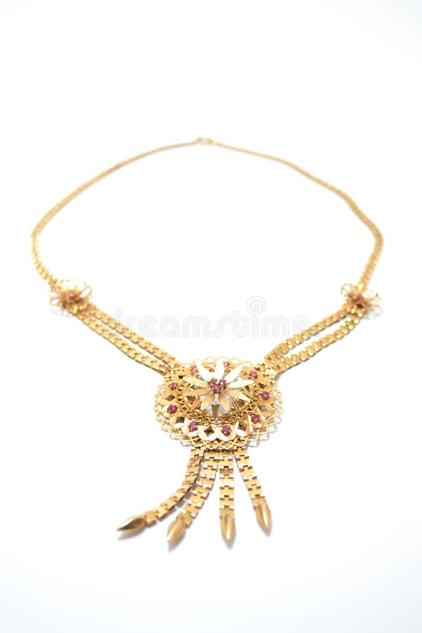 Download Gold Necklace Stock Photos - Image: 27304963