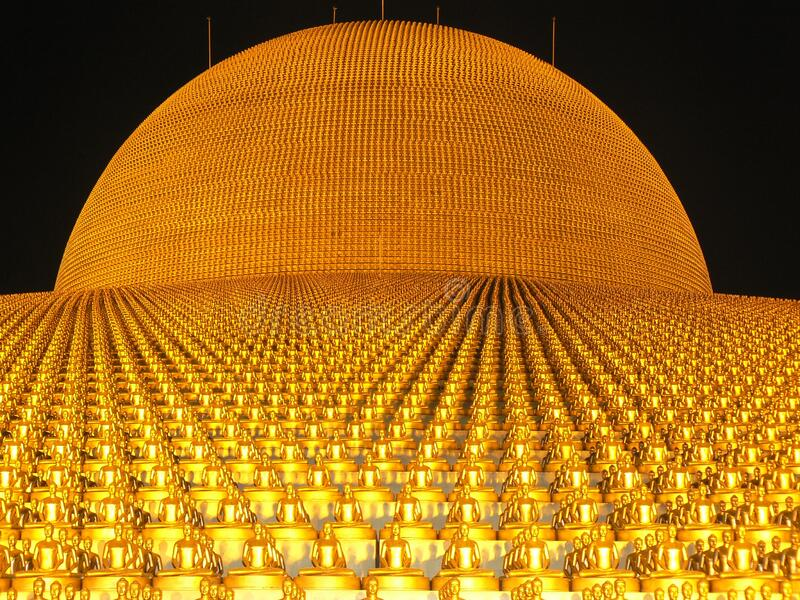 Download Gold Ornament stock image. Image of monument, photo, temple - 83024045