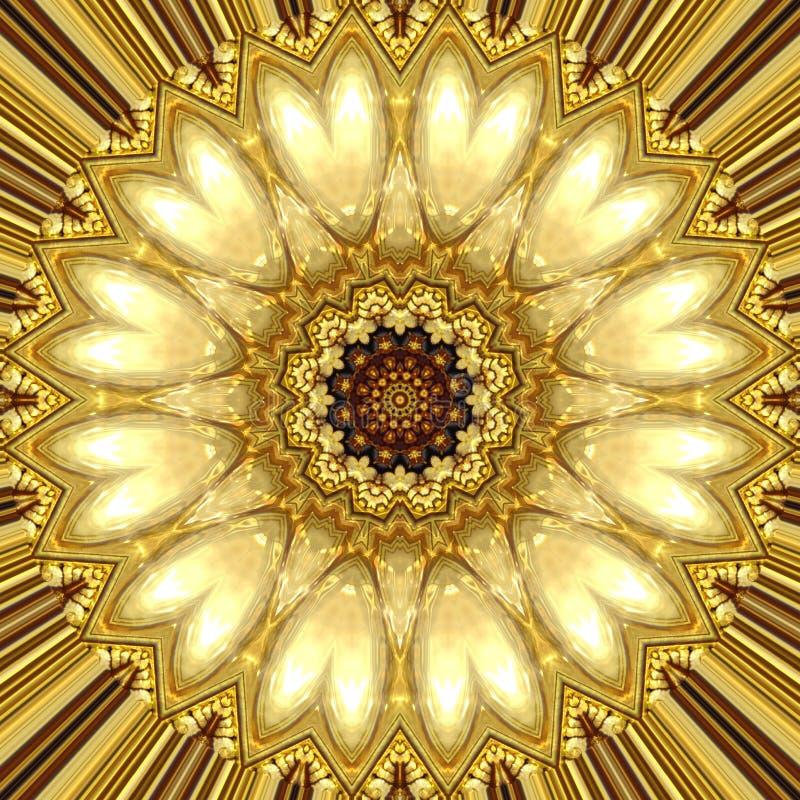 Gold ornament stock illustration. Illustration of decor - 32557107