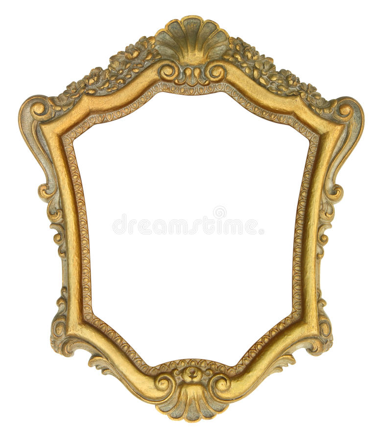 Free Gold Ornate Picture Frame Stock Images - 51953104