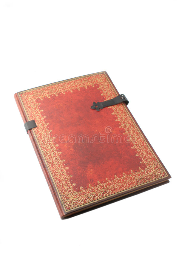 Gold paged book royalty free stock photos