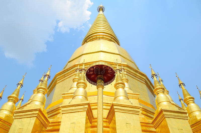 Download Gold pagoda stock image. Image of bright, building, asia - 24529953
