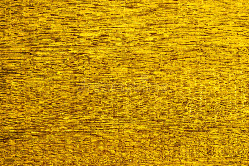 Gold Paint On Wooden for texture background. Photo take on 2016 stock image