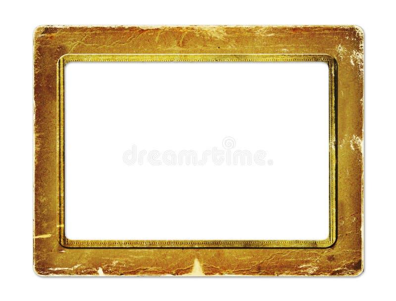 Download Gold Paper Frame For Portraiture Stock Illustration - Image: 14128783