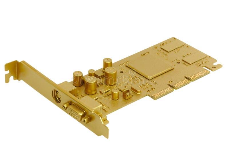 Gold part
