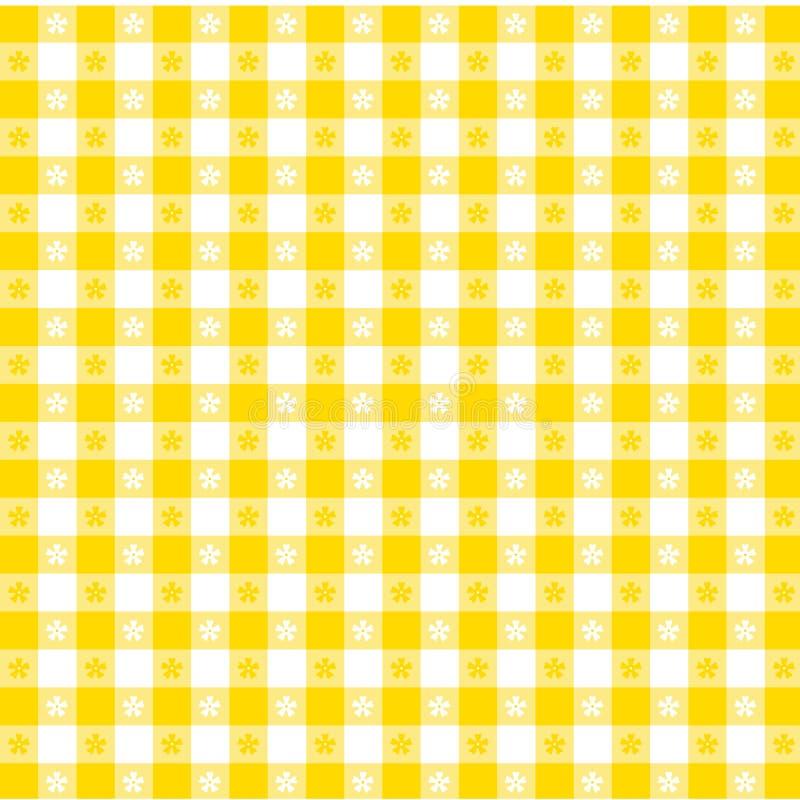 gold pattern seamless tablecloth stock illustrationer