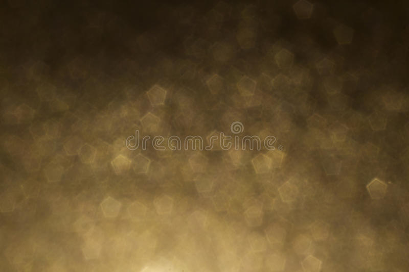 Gold pentagon shape abstract background. Yellow, gold pentagon shape abstract background stock images